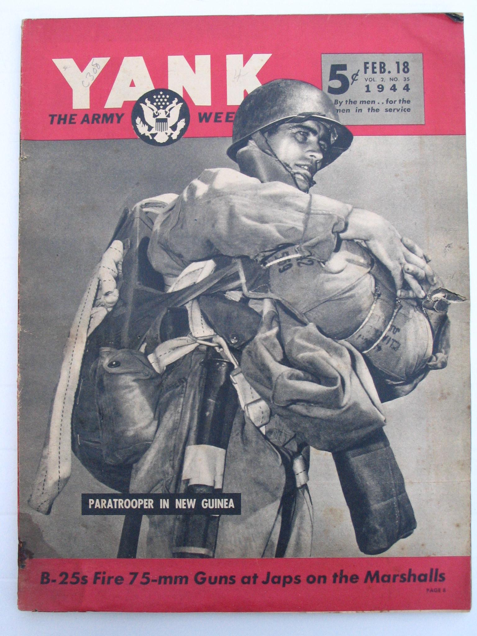 WW2 US Liberty Magazine 1944 Cover Print