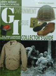 GI Collector's Guide book by Henri-Paul Enjames