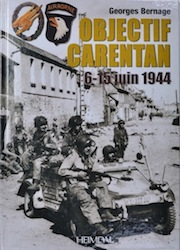 Objectif Carentan 6-15 June 1944 book by Georges Bernage