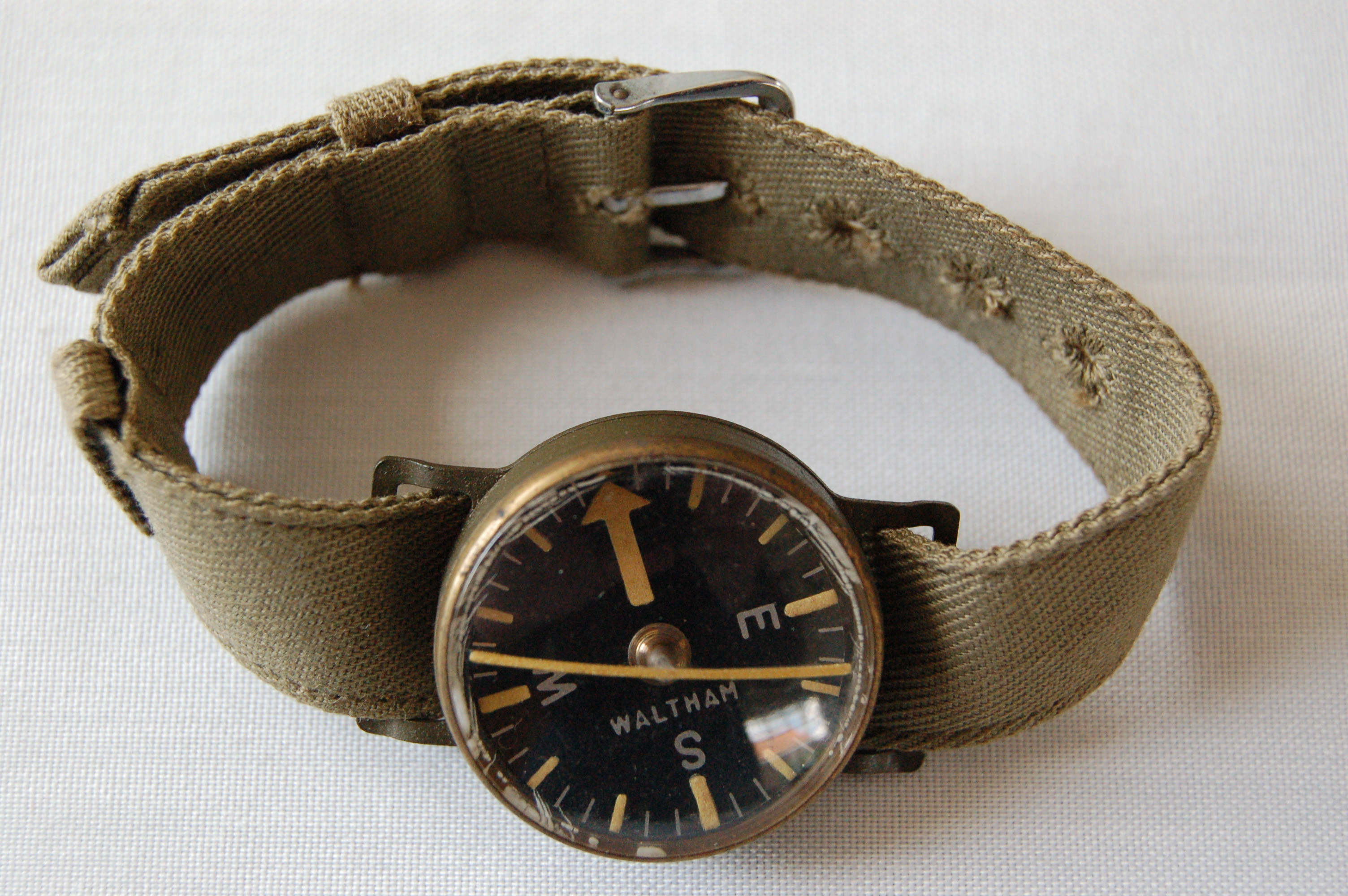 Operation in the Delta (Rolex Inside) Waltham-wrist-compass