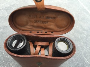 S/Sgt John T Urbank's binoculars