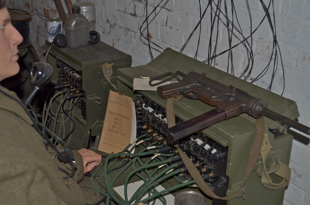 Switchboard operator at 101st Airborne HQ in Bastogne