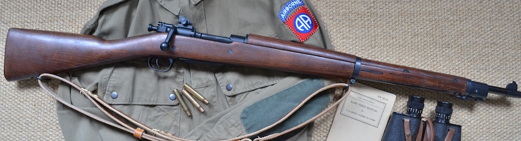 Apple Airsoft Springfield M1919A3 with leather sling