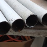 52mm iron pipes recovered from heating ducts of a greenhouse