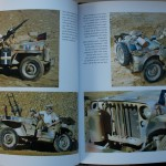 Wartime Jeeps desert version