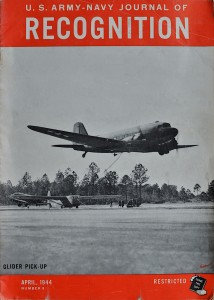 Recognition magazine about gliders, april 1944