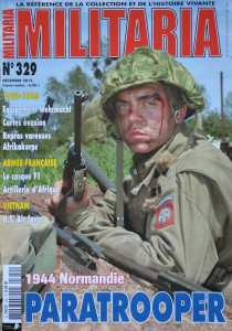 Militaria magazine 329, December 2012 with article on escape maps