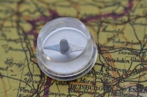 US plexi glass escape compass