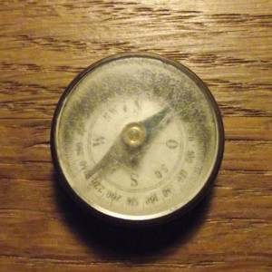 Unidentified German compass