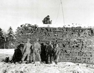 Eureka beacon in Bastogne