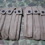 British Made Thompson magazine pouches front