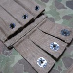 British Made Thompson magazine pouch flaps and Lift Dot detail