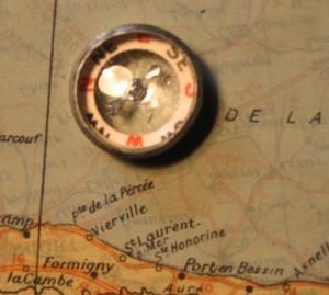 Early British escape compass